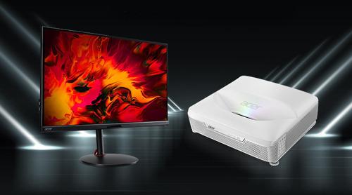 Acer Unveils New Monitors and 4K Projector for Home Entertainment