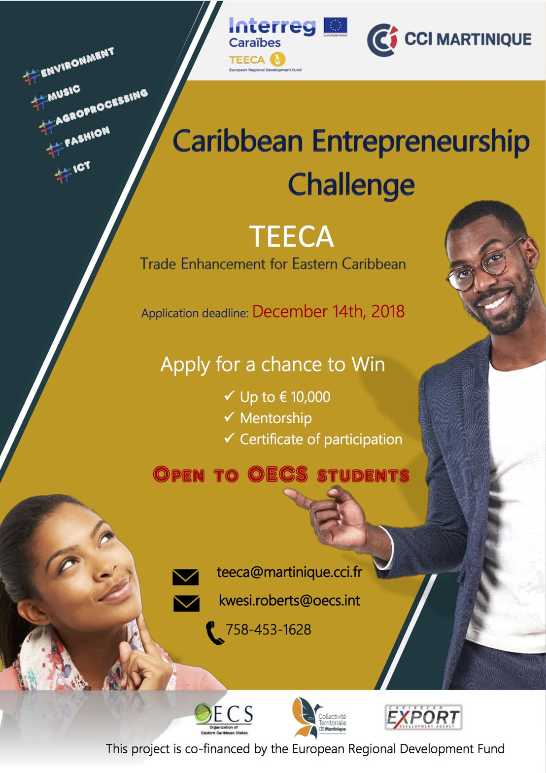 TEECA Project Launches Caribbean Entrepreneurship Challenge