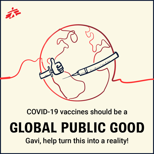 Over 40 organisations & individuals including MSF raise deep concerns around access to future COVID-19 vaccines ahead of Gavi board meeting