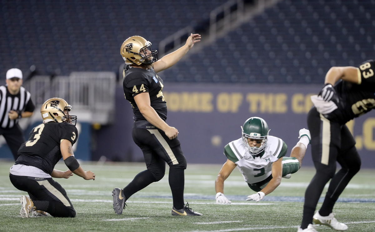 CW SPECIAL TEAMS PLAYER OF THE WEEK: K – BRAD MIKOLUFF
