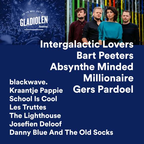 Gladiolen zet Belgische toppers op affiche