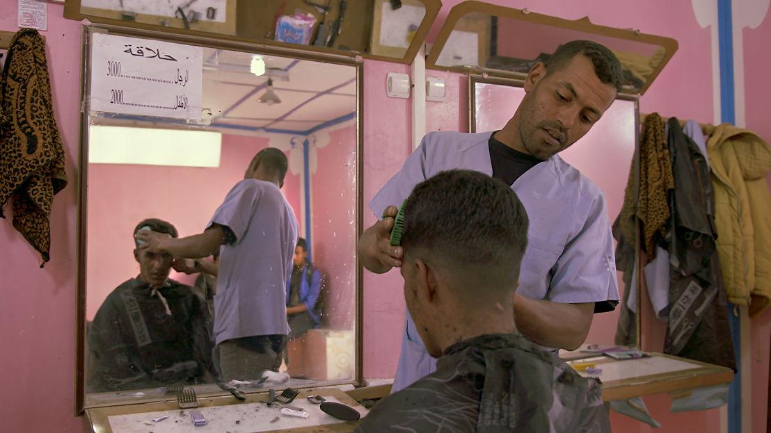 Barber shop: Smara (Algerije) - (c) Luc Vrydaghs