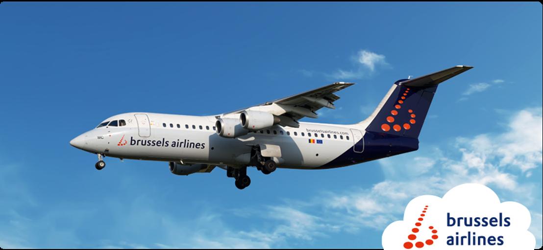 Brussels Airlines fait ses adieux à l'AVRO Regional Jet