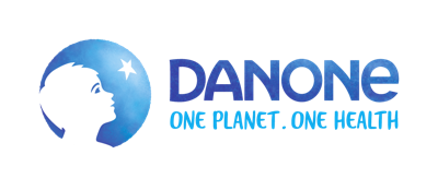 Danone Corporate Belgium press room Logo