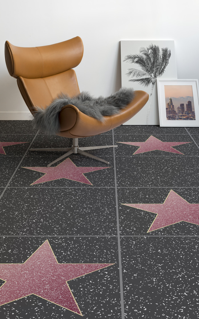 Walk of Fame Flooring That Celebrates The Oscars