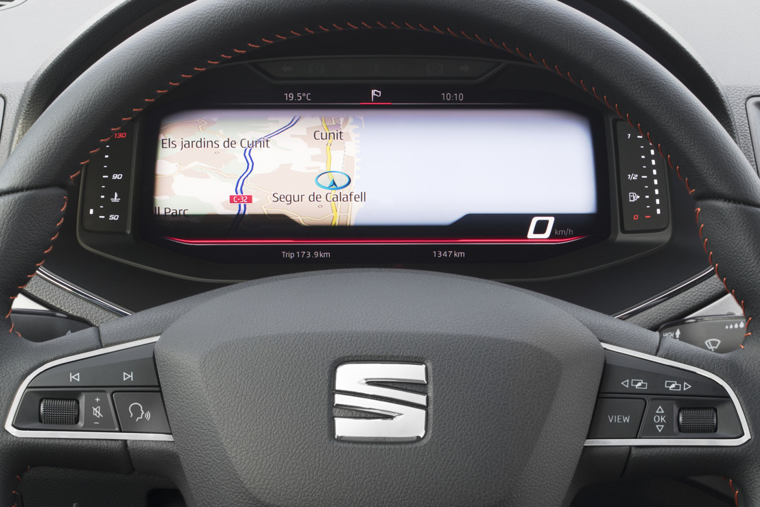 SEAT introduit son Digital Cockpit dans l'Arona et l'Ibiza