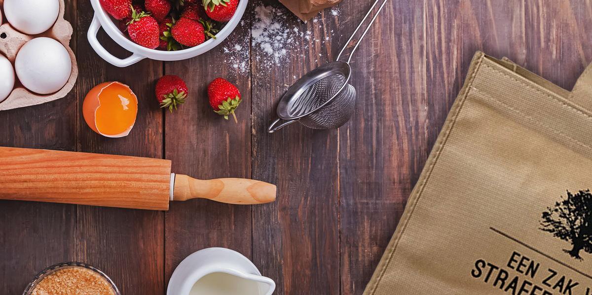 Thuis aan de slag met aardbeien dankzij de nieuwe Aardbei Beleving Box van Straffe Streek