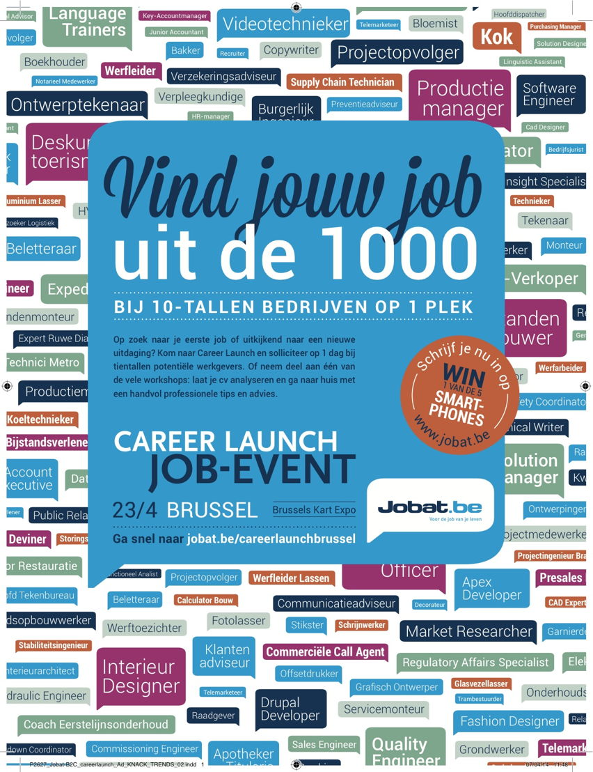Print Ad - Career Launch NL
