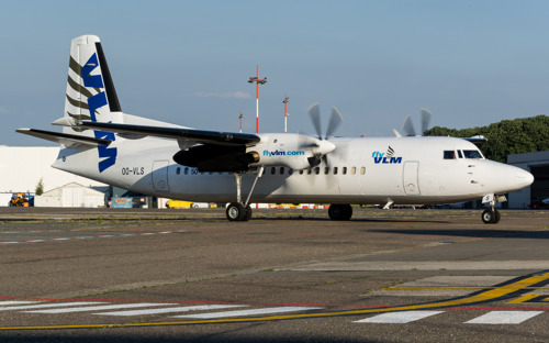 VLM Airlines received Belgian AOCs for both Airbus A320 and Fokker 50 operations