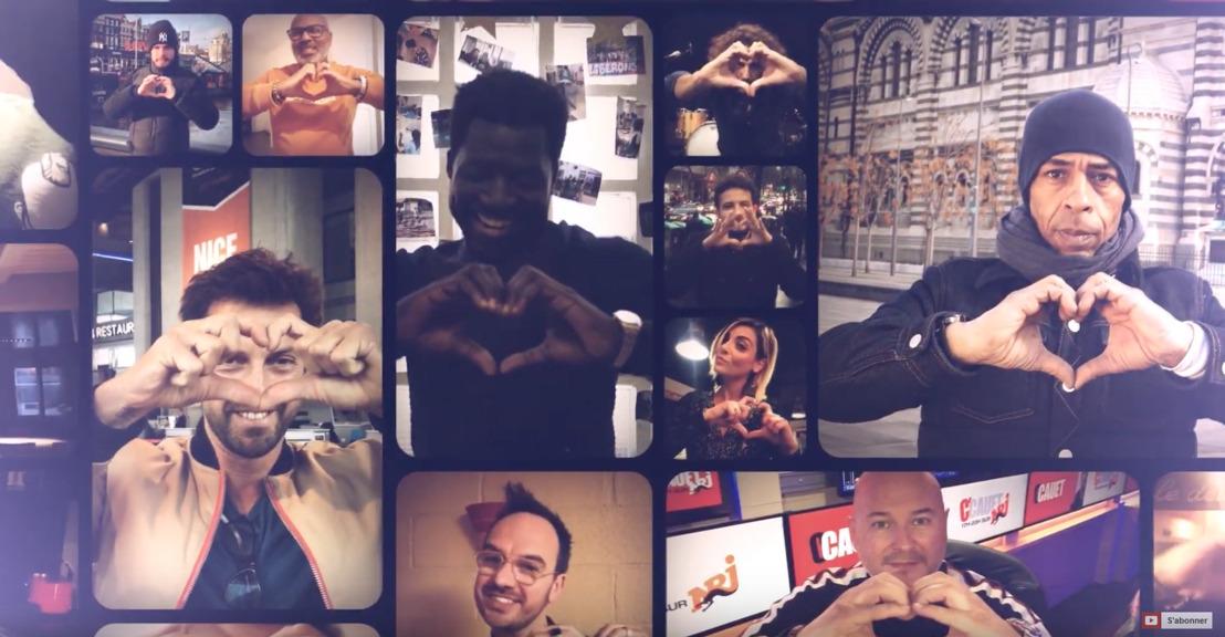 Yannick Noah / Soprano / Amir / Black M : Quand plus de 40 célébrités entourent Kaotik747 afin de soutenir les enfants malades