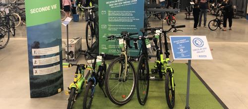 Decathlon geeft uw fiets een tweede leven