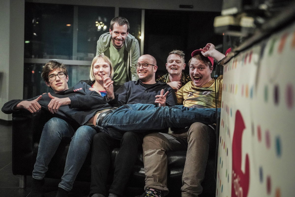 De halve finalisten van De Humorklas 2020 © Radio 2