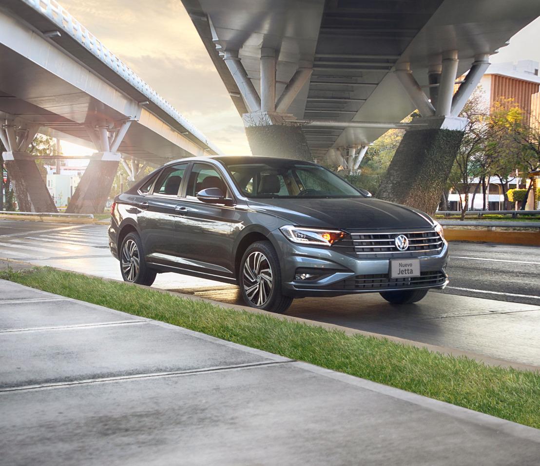 Nuevo Jetta destaca entre los autos más producidos en México durante 2018