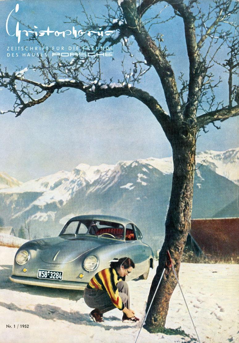 1952. A comienzos de año fue publicada por primera vez la revista Christophorus, exclusiva para clientes Porsche