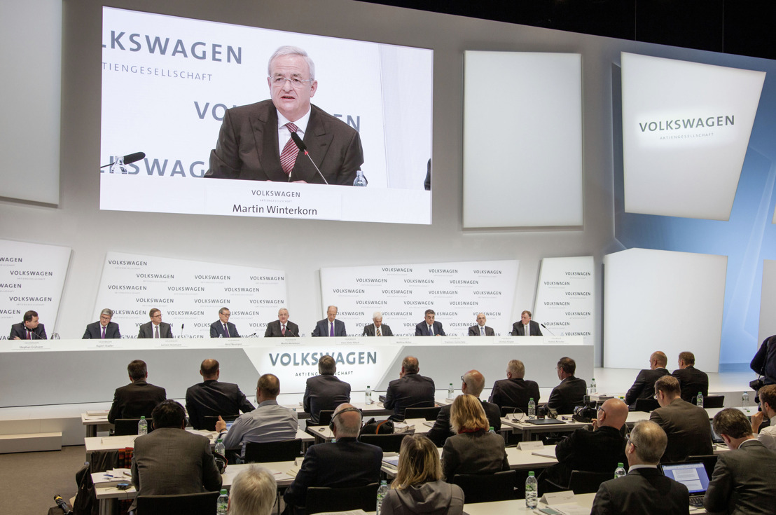 Volkswagen Group aims to continue on its robust growth path and further improve its earnings quality