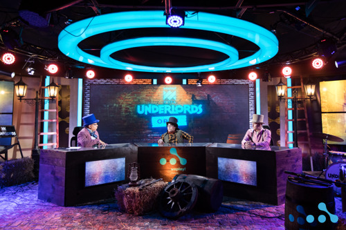 WePlay! Dota Underlords Open: — photos of WePlay! Esports studio