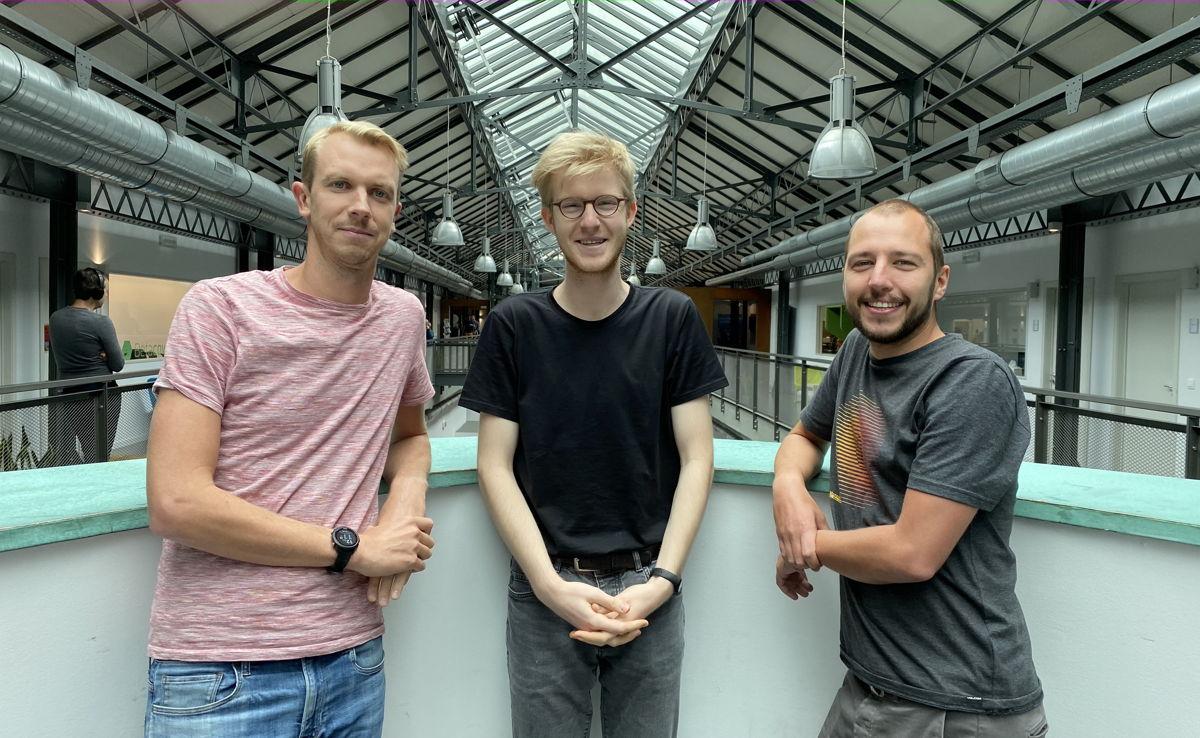 Oprichter Corneel Haine, Wannes Feijtraij en zaakvoerder Jesse Huybrechts
