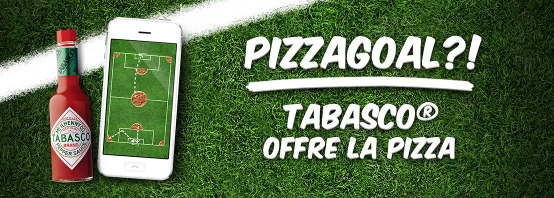 Tabasco® offre des pizzas gratuites pour les Pizzagoals