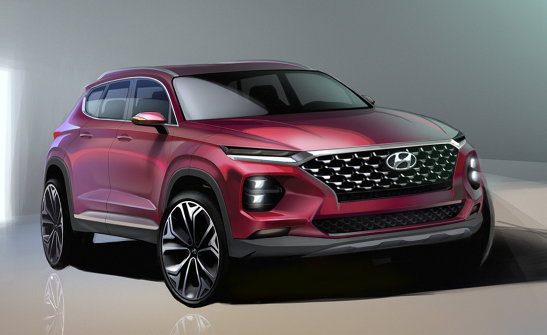 Hyundai Motor Unveils First Rendering of the Santa Fe