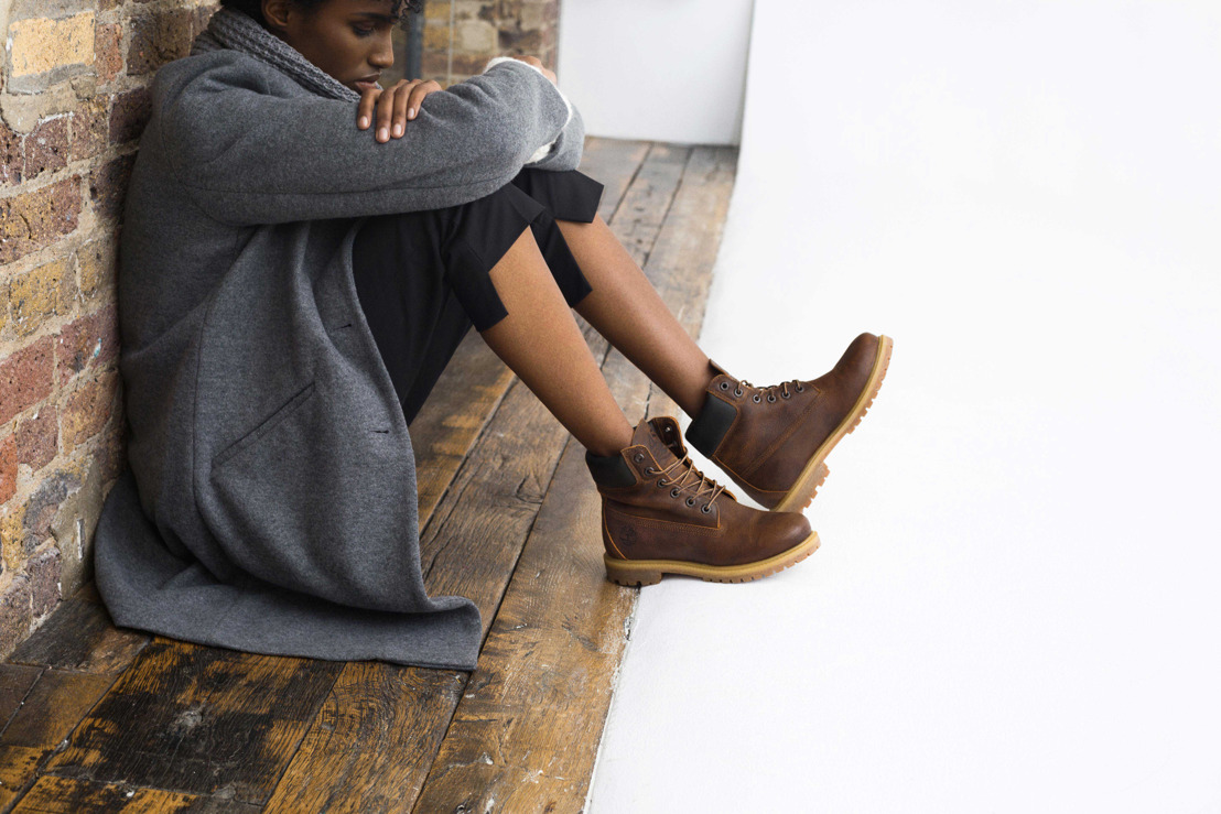 Timberland releases the women's London Square boot this fall as a symbol of creativity and originality