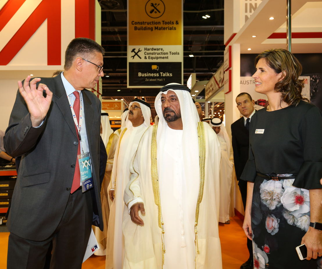 His Highness Sheikh Ahmed Bin Saeed Al Maktoum opens The Big 5, and the co-located Big 5 Solar
