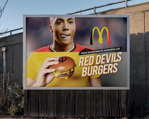 McDonald's rassemble tous les fans derrière les Red Devils