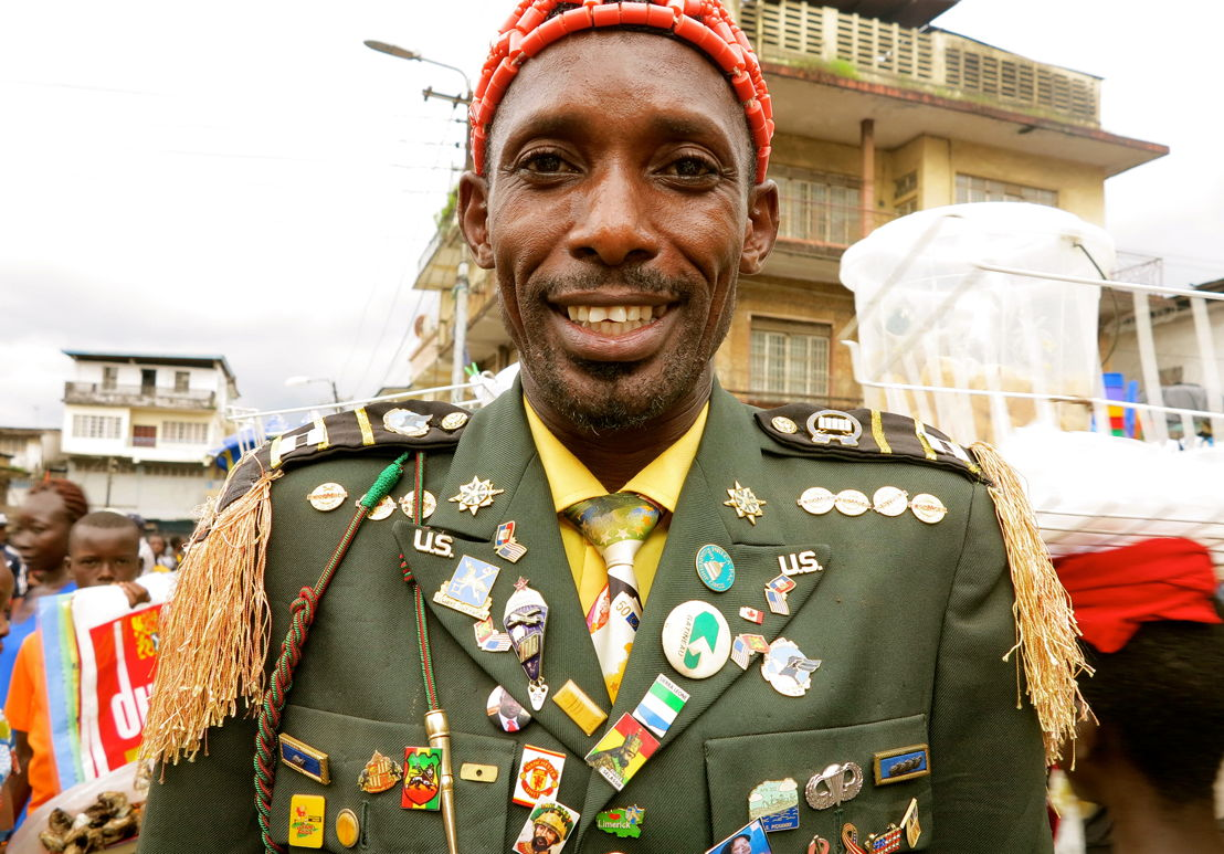 Fashpack: Freetown - Street preacher, Great Hero