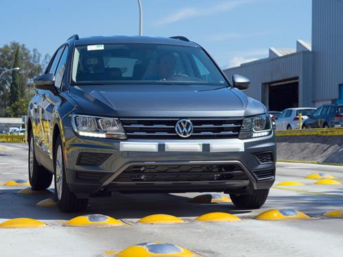 Volkswagen Tiguan es el SUV más exportado de México