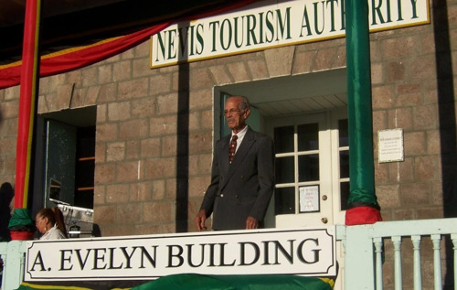 STATEMENT BY NEVIS TOURISM AUTHORITY ON FIRST TOURISM MINISTER THE HON. ARTHUR EVELYN