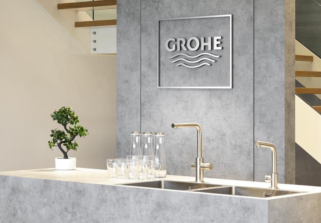 GROHE BeLux opent het GROHE Experience Center in Zaventem