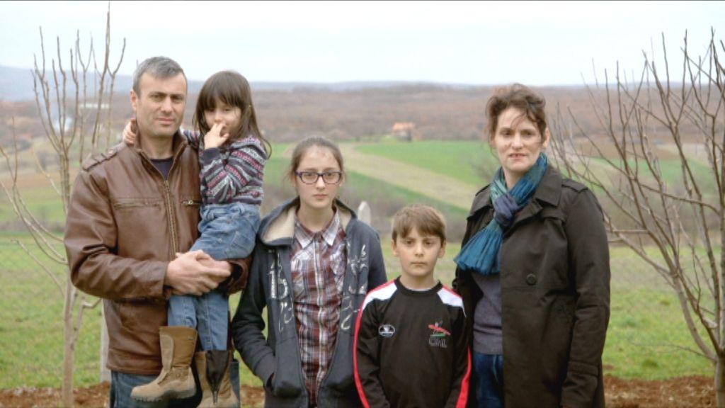 De familie Berisha - (c) VRT