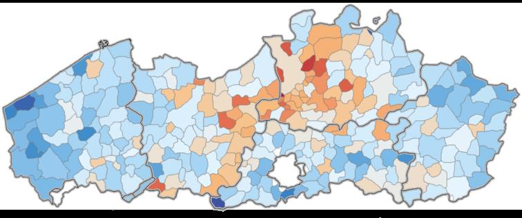 Loft is vooral populair in Antwerpen