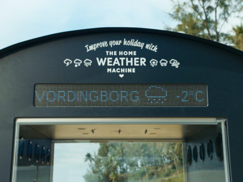 The Home Weather machine by Neckermann