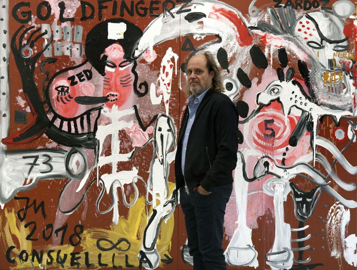 Tim Van Laere, 2018. Courtesy Tim Van Laere Gallery, Antwerp