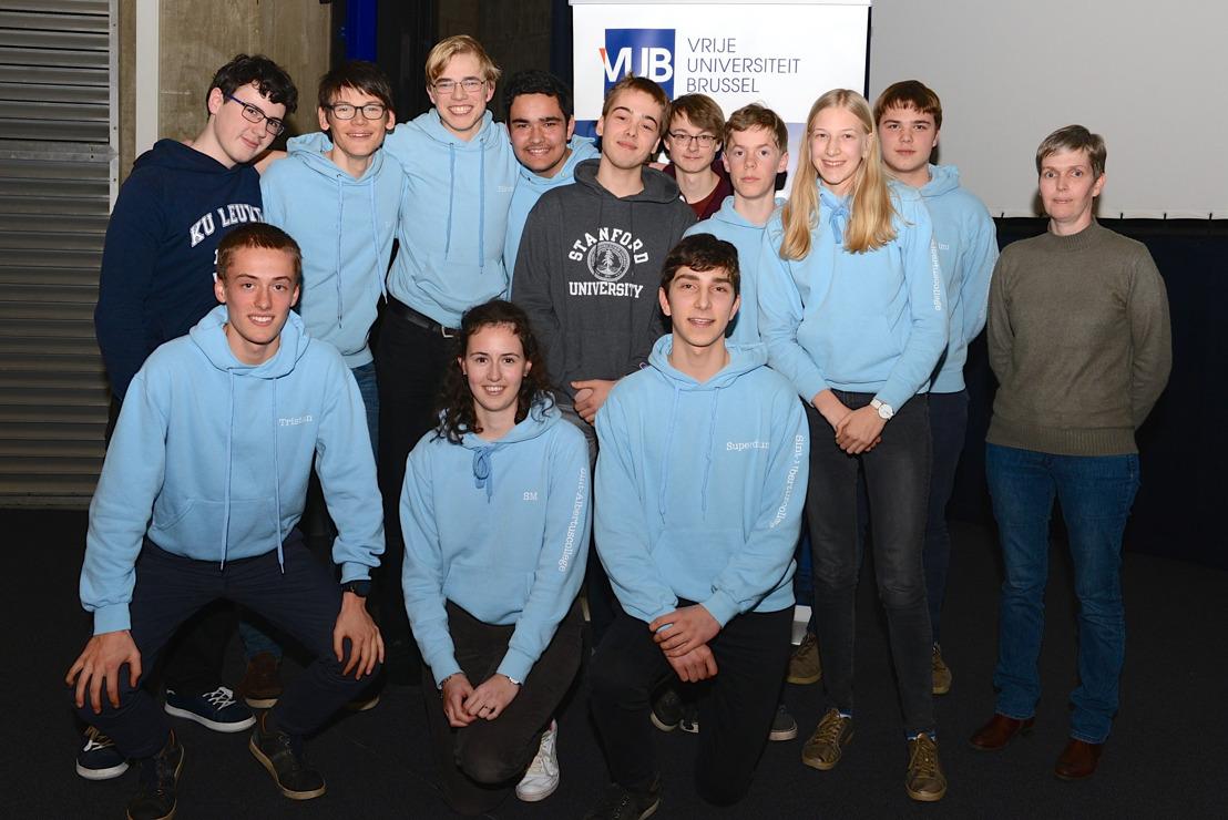 Team \'Sal & Co\' uit Heverlee wint denderende finale Wiskunnend Wiske