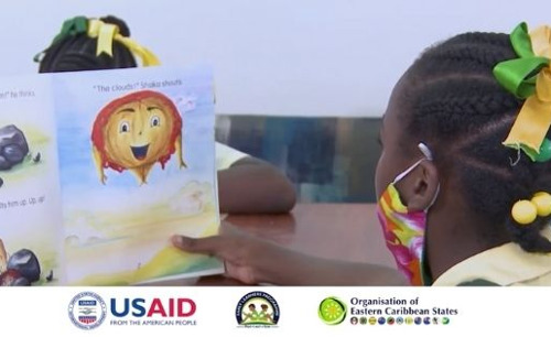 Students and parents in Grenada benefit from Early Grade Reading!