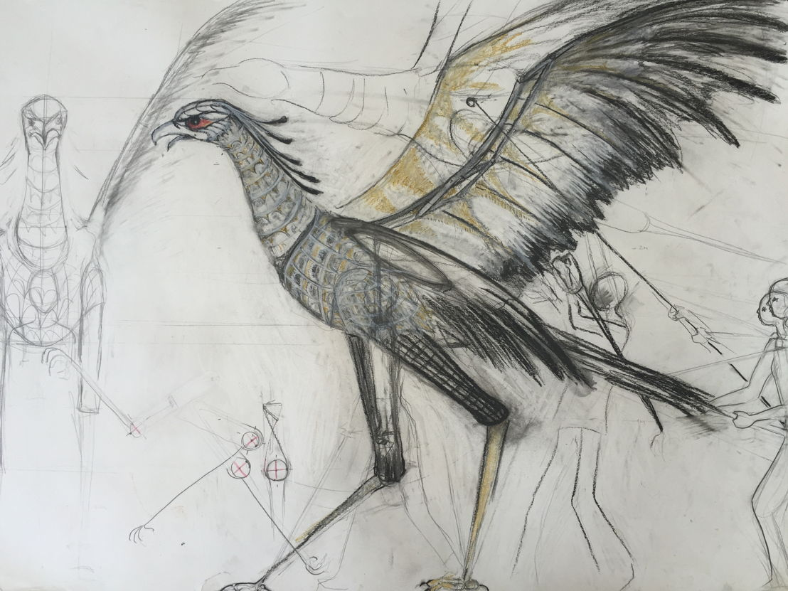 The Firebird - Production Sketch