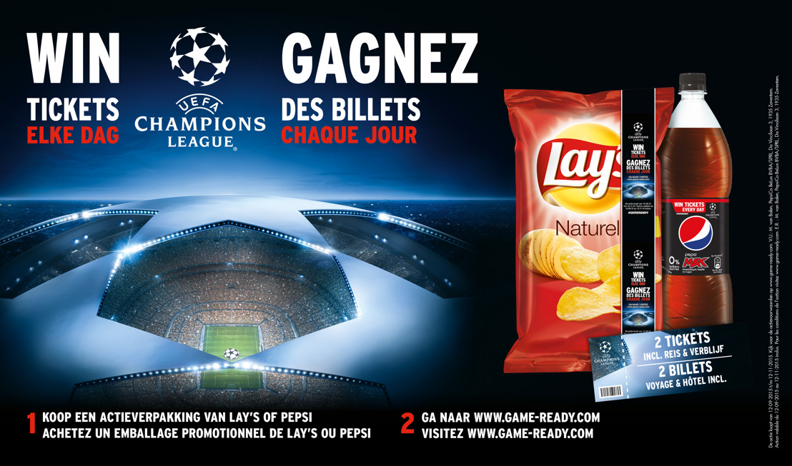 PepsiCo lanceert #GAMEREADY campagne