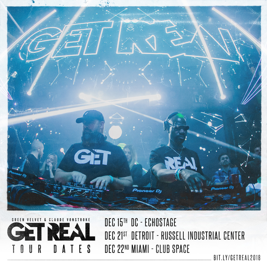 Claude VonStroke & Green Velvet Return as 'Get Real' for December Tour