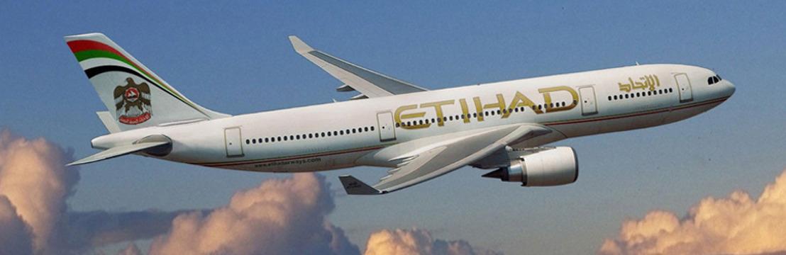 Etihad Airways vliegt naar de roze stad