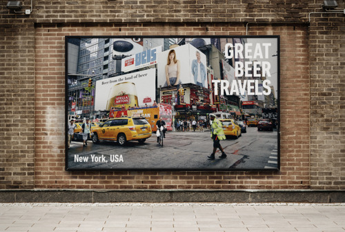 These Stella Artois outdoor ads show Stella Artois outdoor ads from all over the world