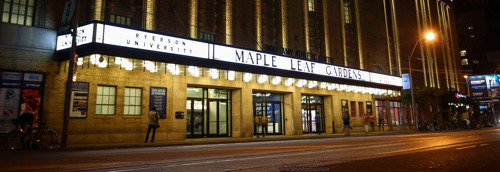 TORONTO ULTRA TO PLAY HOME GAMES AT THE OLD MAPLE LEAF GARDENS