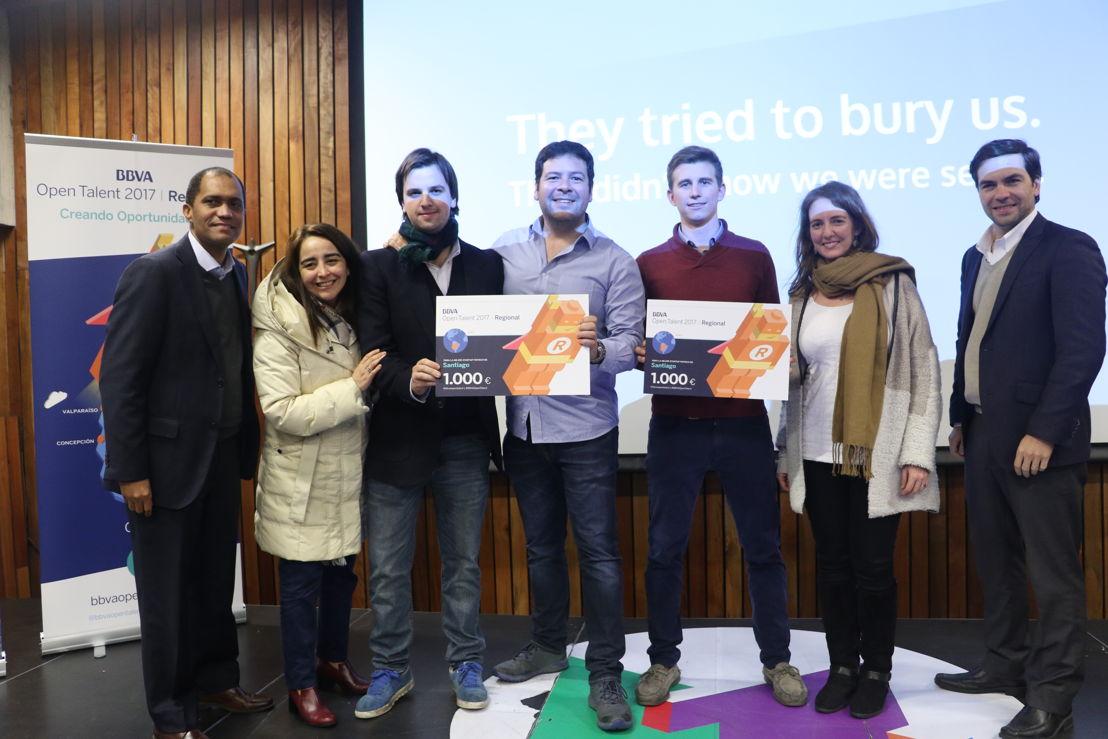 Finalistas de BBVA Open Talent en Santiago