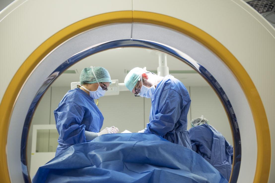 CT-zaal voor 3D-beelden<br/>© UZ Leuven