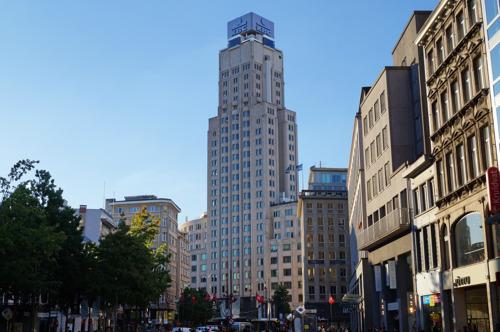 KBC bereikt akkoord met Katoen Natie Groep & ION i.v.m. herontwikkeling KBC-Toren tot cultuurtoren.