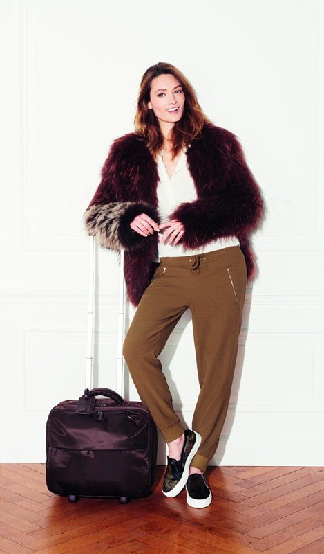 Plume Business - Wheel Rolling Tote - Chocolate - €149