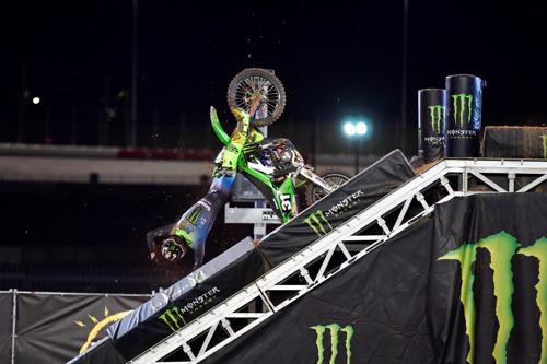 Can-do McAdoo - Supercross Racer's Determination Makes Crash an Instant Legend