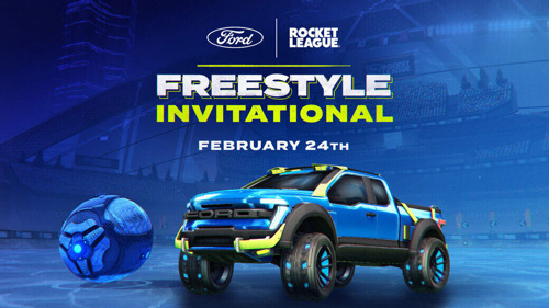 El Ford + Rocket League Freestyle Invitational ¡comienza hoy!