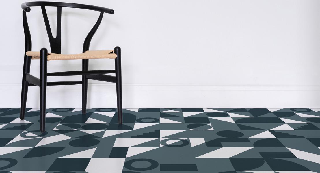 Flooring created to celebrate Bauhaus centenary