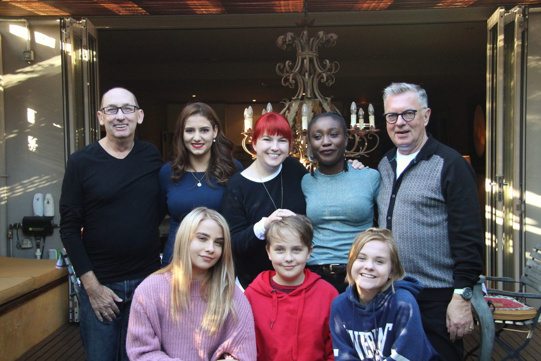 Australian Story<br/>Dennis Cash and John Guthrie and the foster children at their Sydney home.